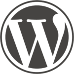 WordPress logo website laten maken Peace of Code